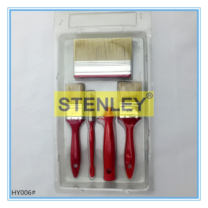Paint Brush Set Brush Plastic Handle