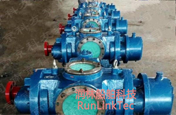 Screw Pump/Double Screw Pump/Twin Screw Pump/Fuel Oil Pump/2lb2-450-J/450m3/Marine Equipment