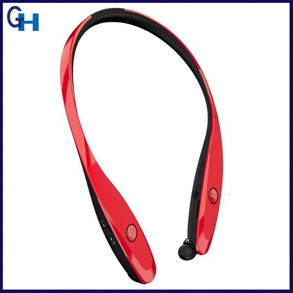 2017 Newest Noise Cancelling CSR 4.0 Sports Neckband Stereo Wireless Interphone Bluetooth Earpiece