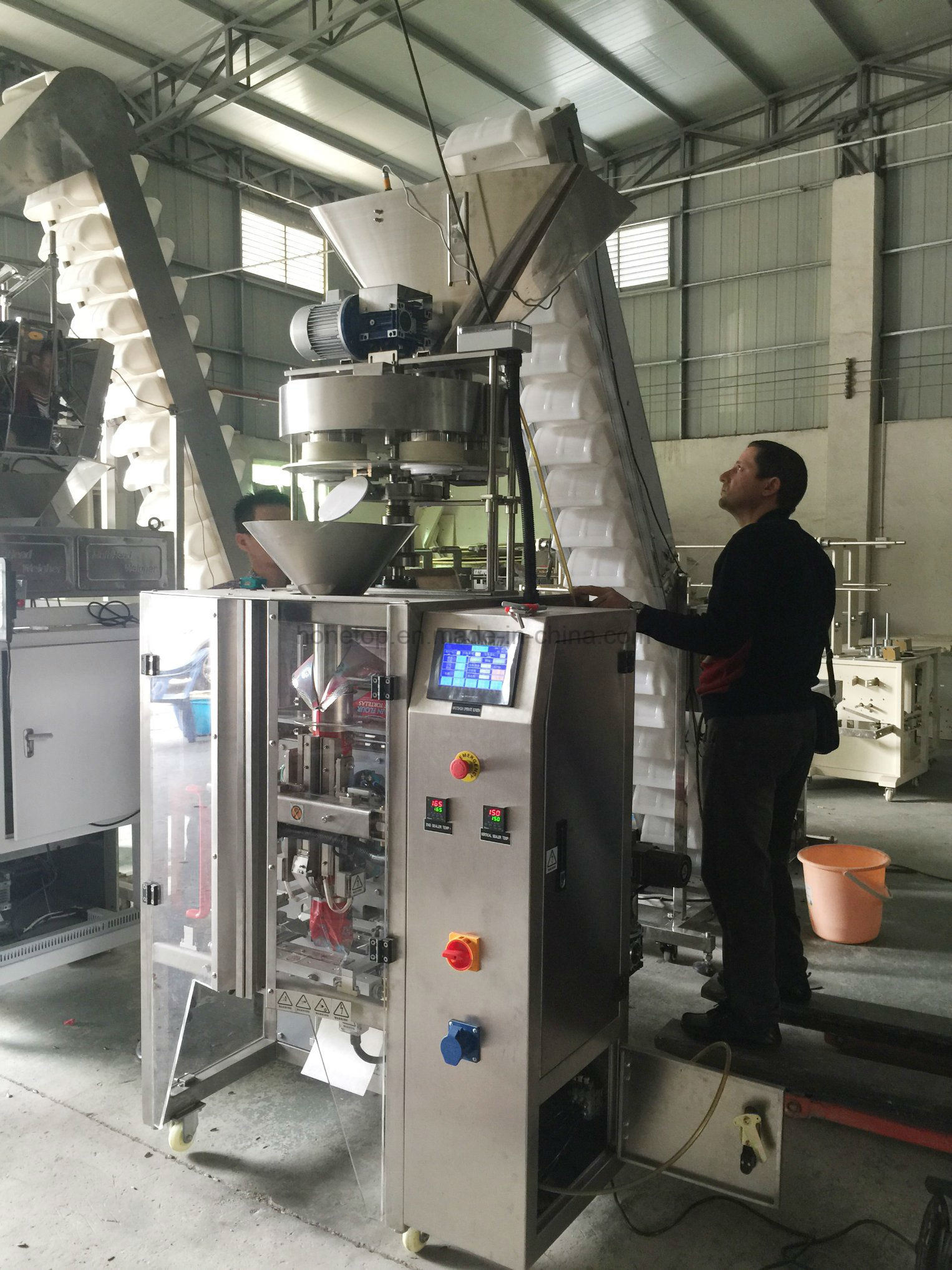 Automatic Vertical Granule Packaging Machine