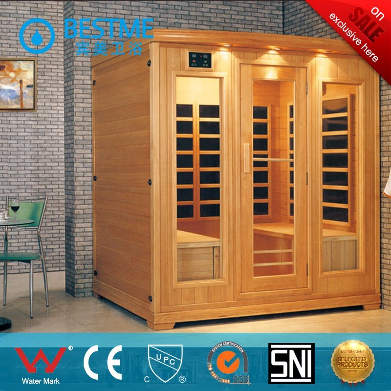 Factory-Direct-Supply Sanitary Ware Easy-Installation Steam Sauna Room for Bathroom (BZ-5037)