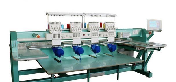 4 Head 9 Colors Cap Embroidery Machine