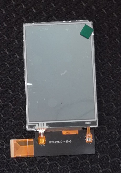 3.5 Inch 320*480 Resolution Customizable TFT LCD Module LCD Display Touch Screen M017