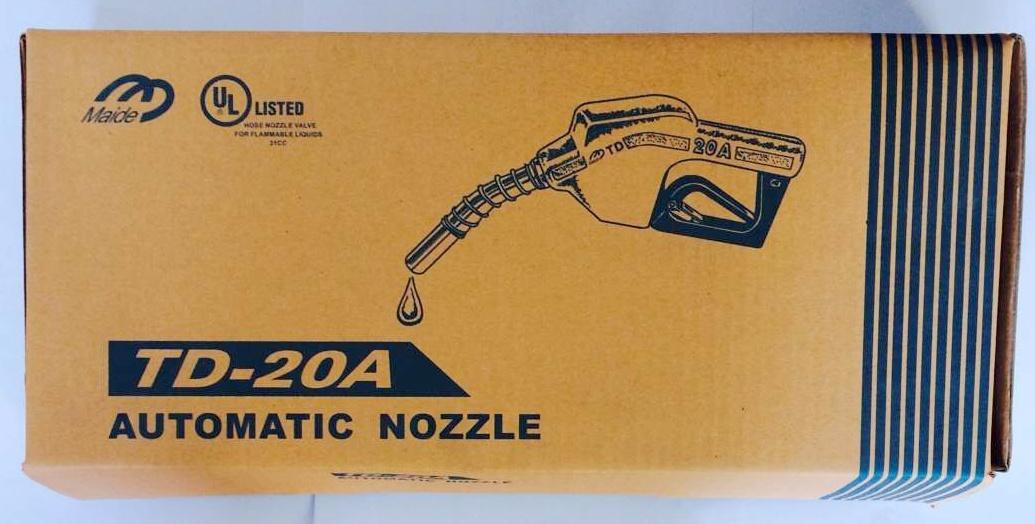Td20 Fuel Nozzle Td20 Automatic Nozzle Td20 3/4 Nozzle Dn20 Nozzle