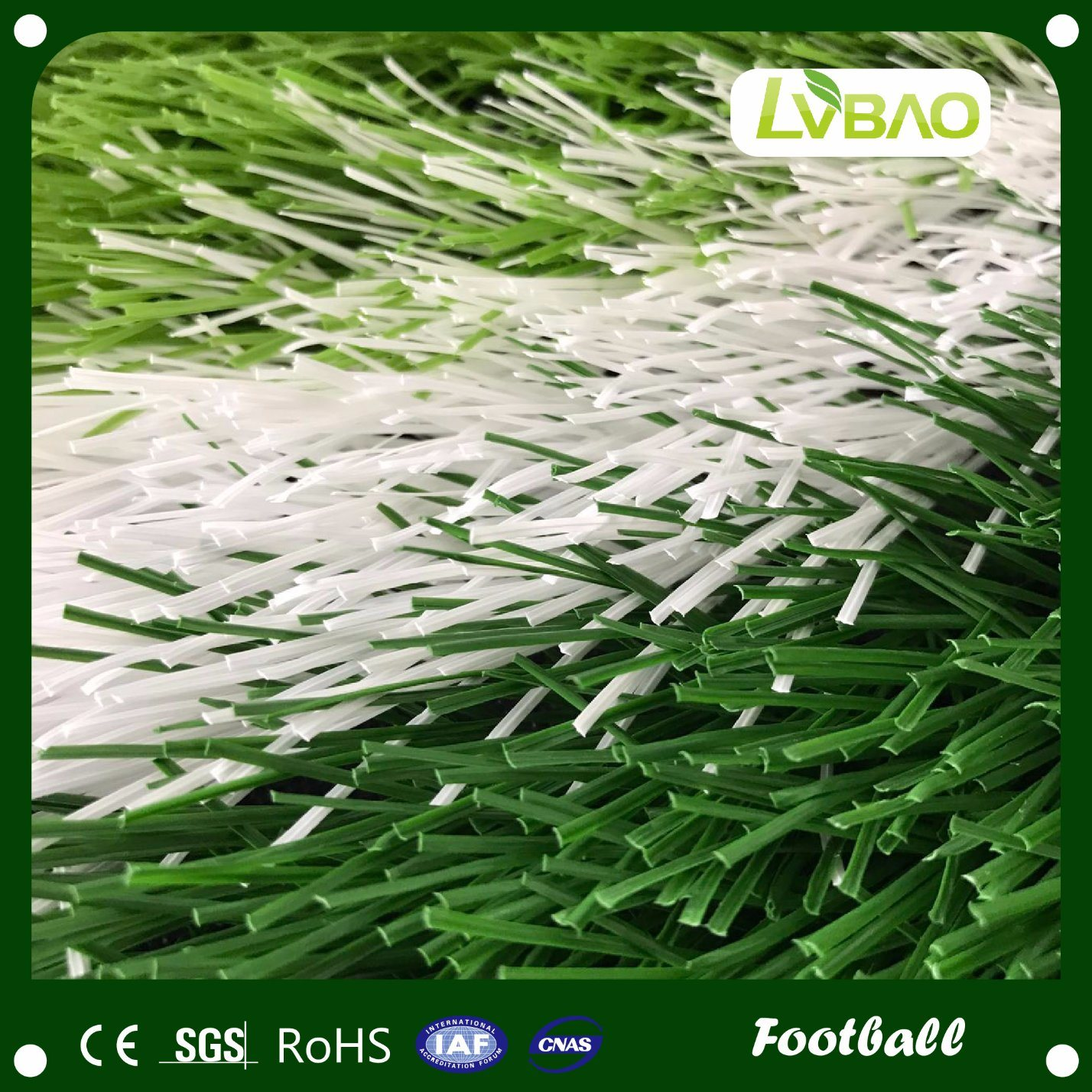 China Factory Wholesale Grass Artificial for Football Synthetic Grass Carpet