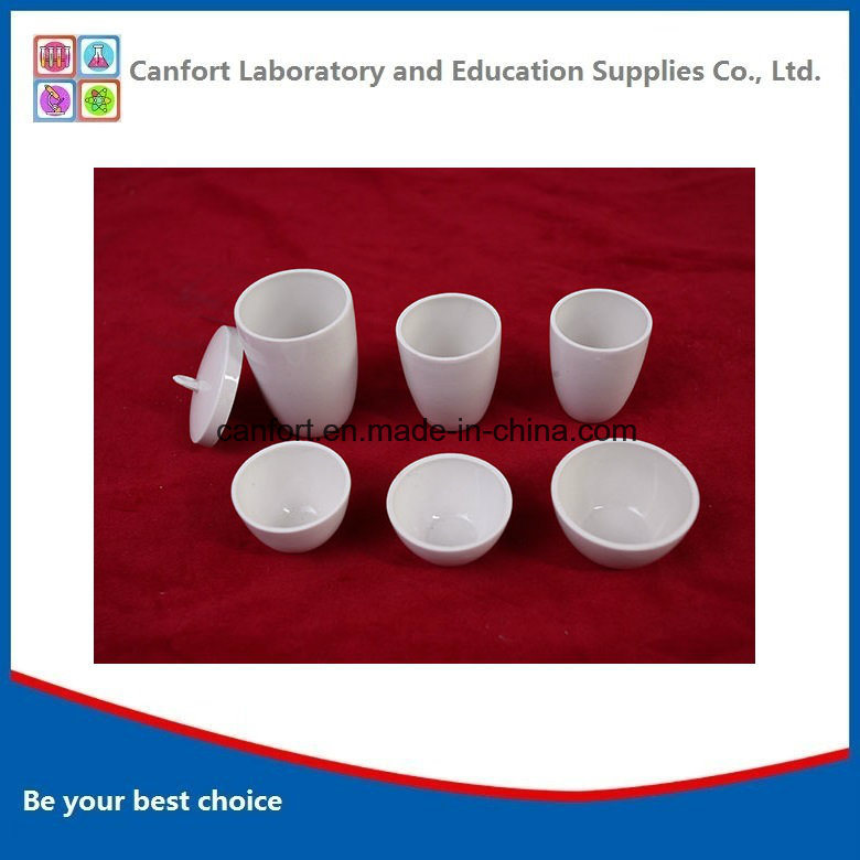 Lab Equipment Refractory Low Wall Ceramic Crucible