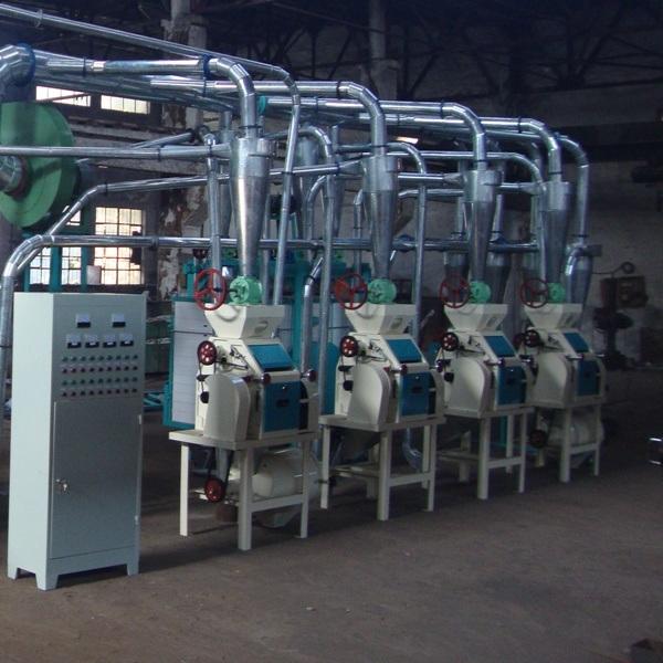 Small Wheat Flour Milling Machinery