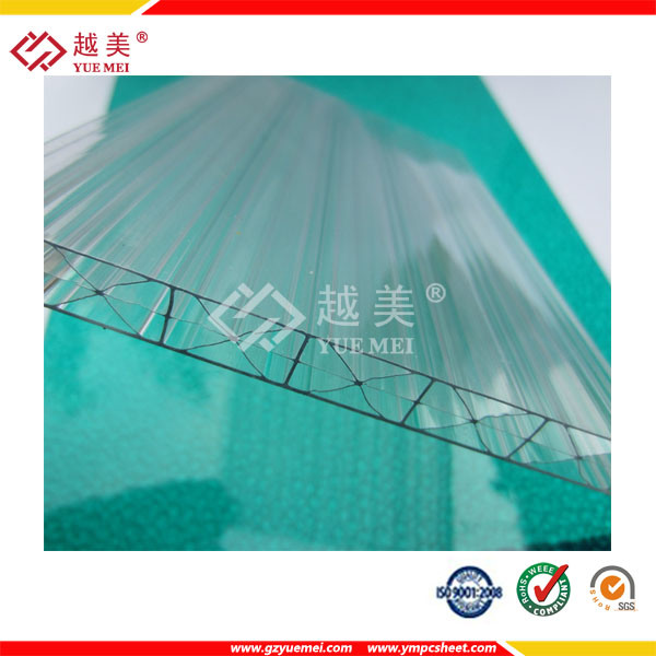 Ten Years Warranty 1.5mm to 25mm Flat Polycarbonate Sheet