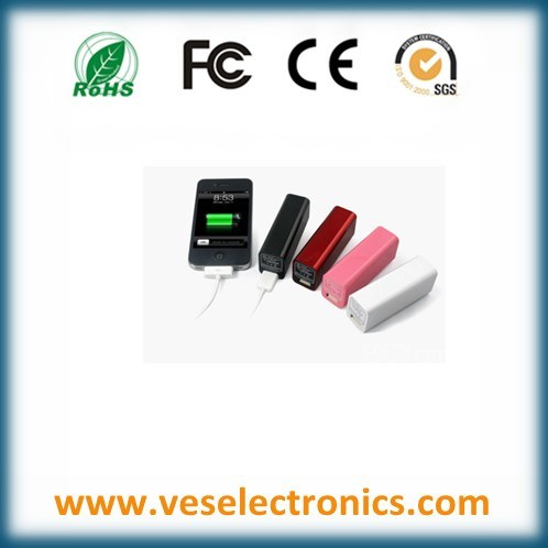 Metal Power Bank USB Flash Drive Portable Travel Charger