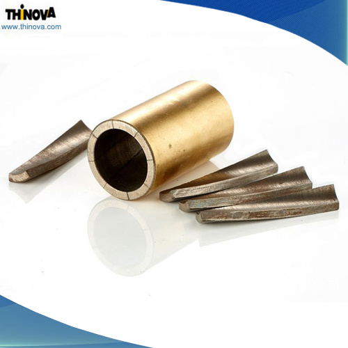 Gold-Plated Sintered Neodymium/NdFeB Magnet for Motor Use