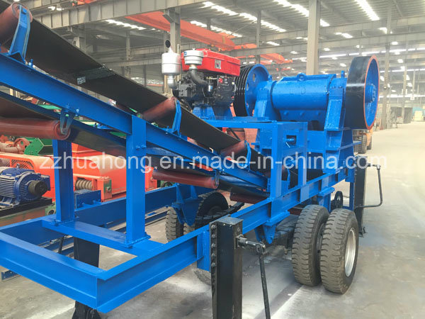 Flexible Popular Wheeled Crusher Move Jaw Crushing Plant/Mobile Stone Crushing Machine