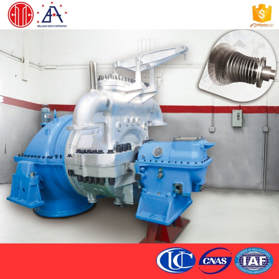 CHP Power Plant Steam Turbine Power Generation Machine (BR0057)