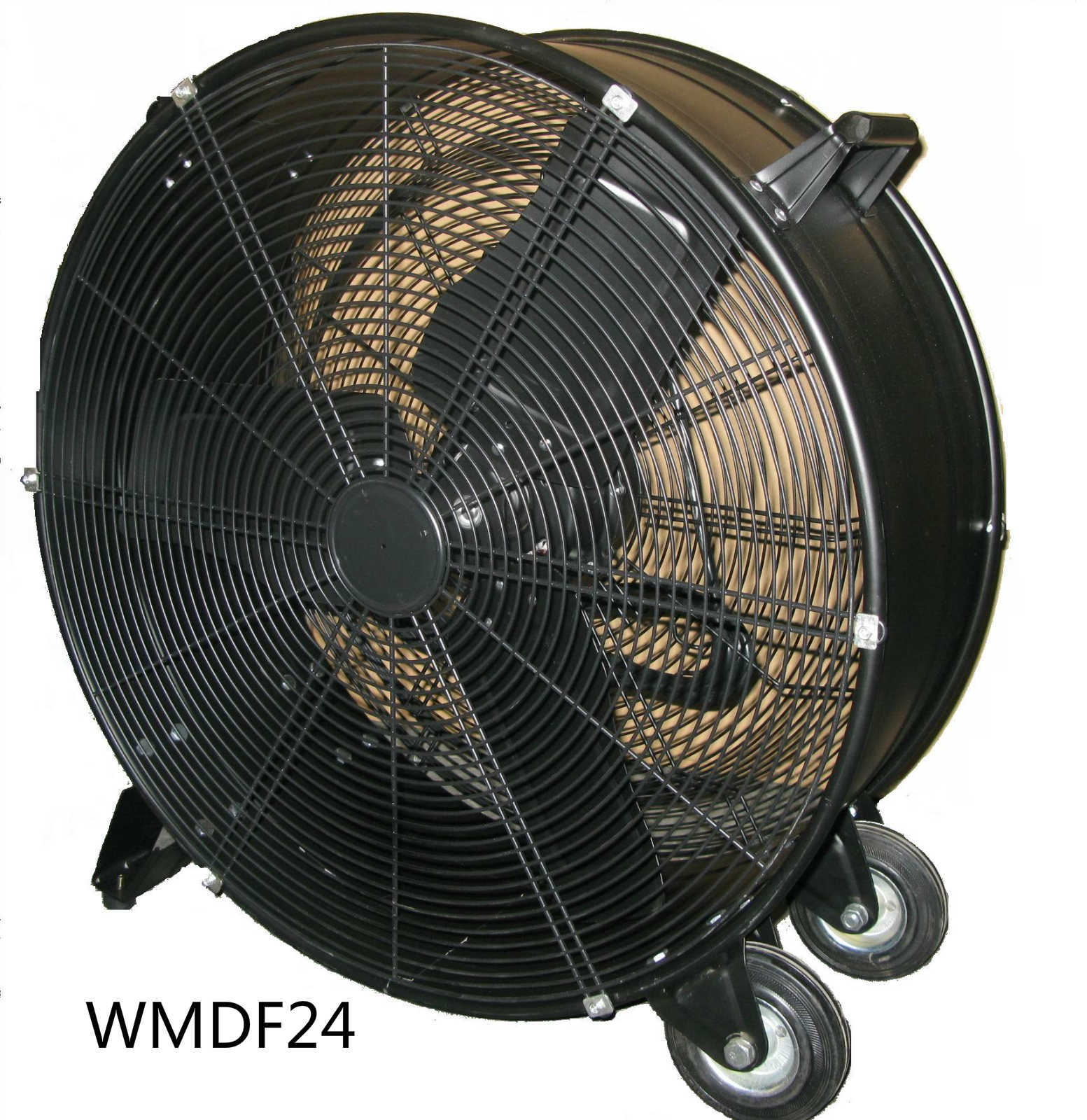 "Comfort Zone 24"" Industrial Drum / Barrel Fan"