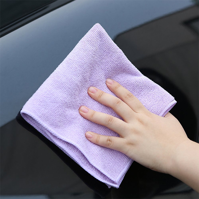 Custom Print Table Kitchen Car Microfiber Cleaning Cloth