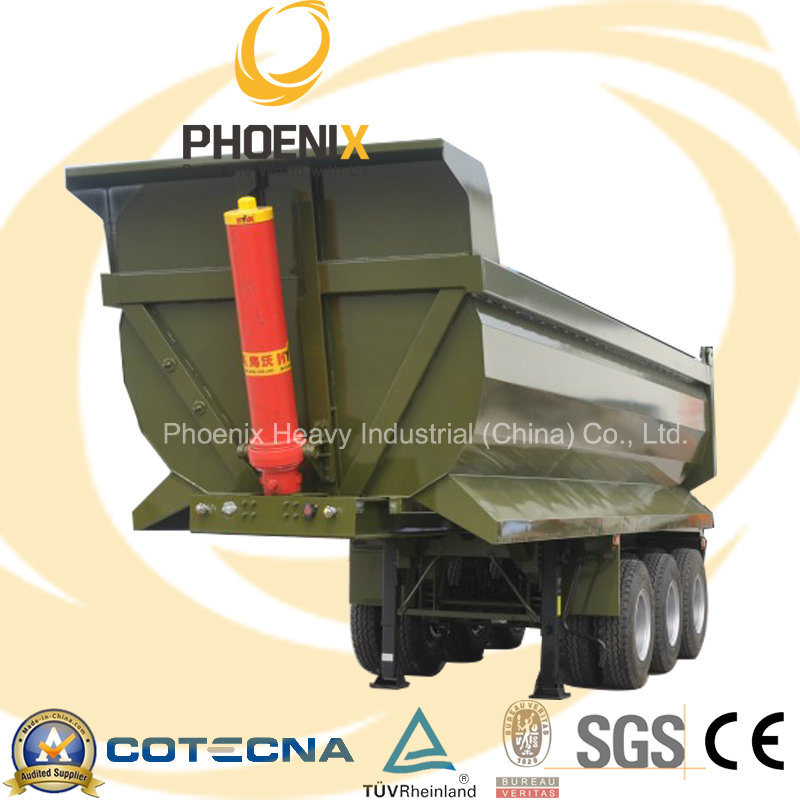 Professional Supplier 30tons Tri-Axle Rear Dumper Semi Trailer