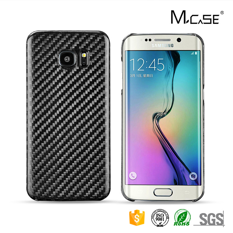 Carbon Fiber Cell Phone Cover for Samsung Galaxy S7 Edge