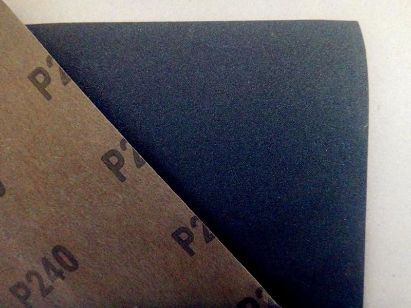 Waterproof Silicon Carbide Latex Abrasive Paper /Sandpaper FM58 120#