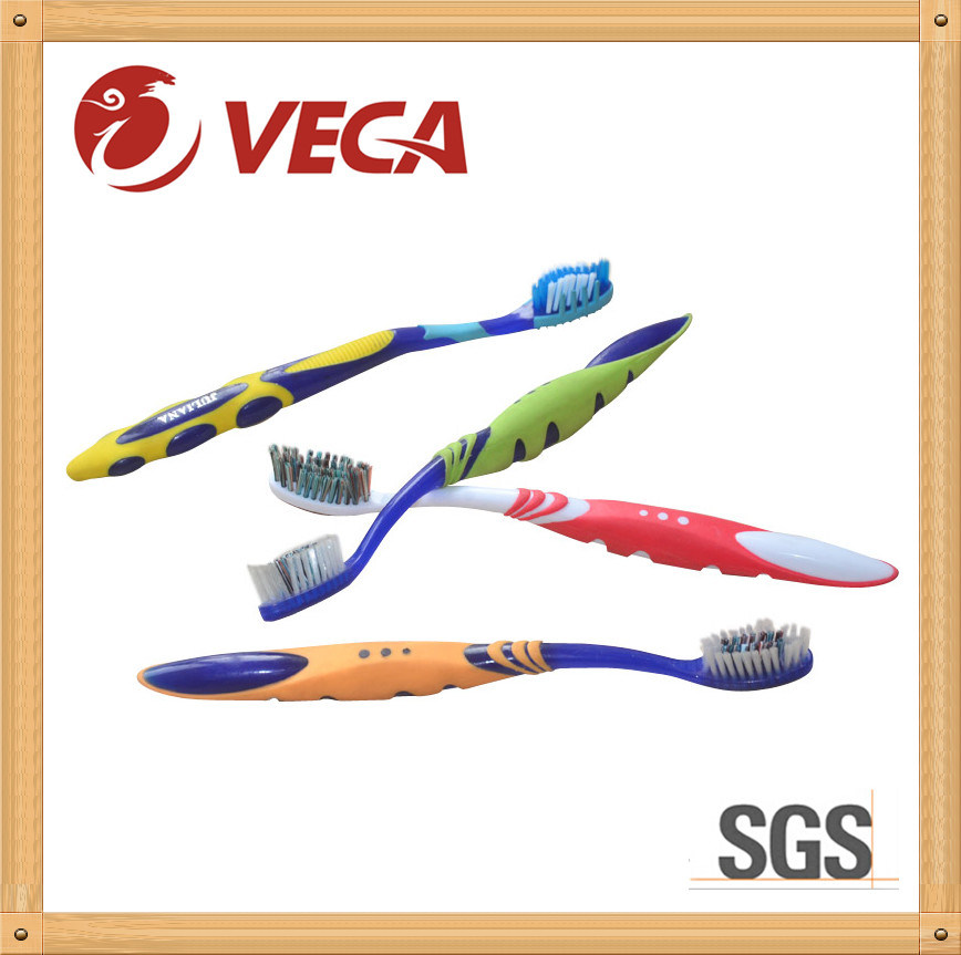 Big Handle Toothbrush with Massager