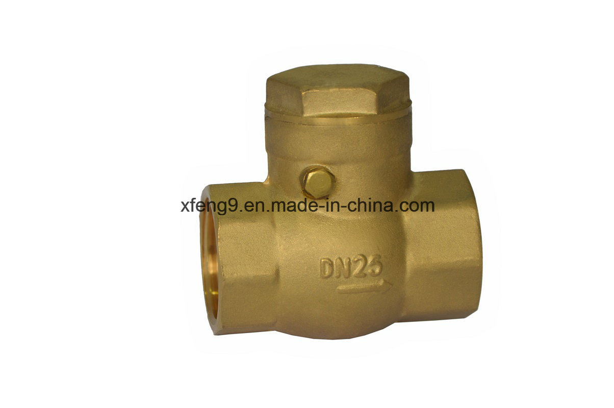Forged Brass Swing Check Valve