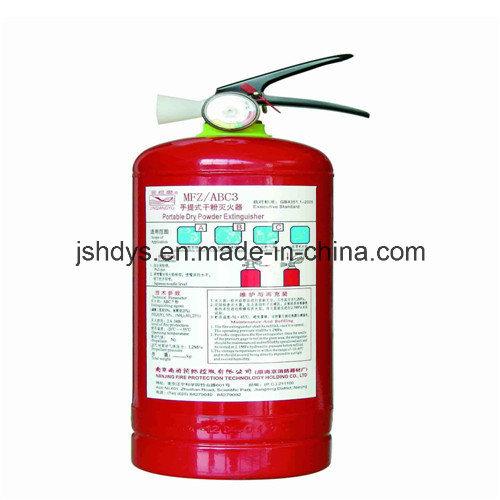 Portable Dry Power Fire Extinguisher (EN3)