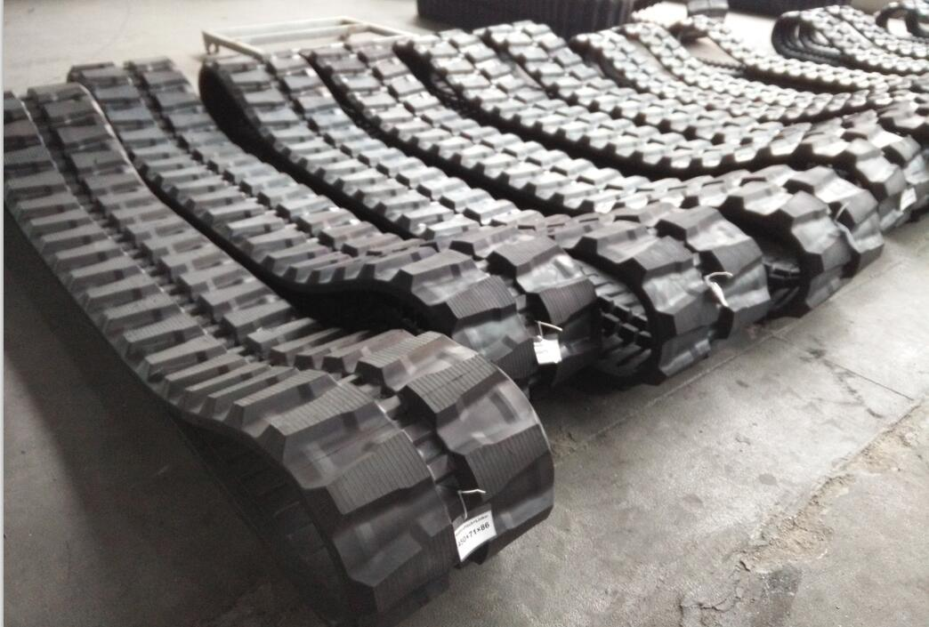 Excavator Rubber Track for Hitachi