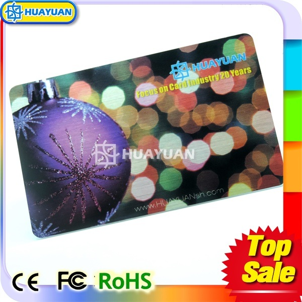 13.56MHz HF Contactless MIFARE Classic 1K Smart Card for Car Parking