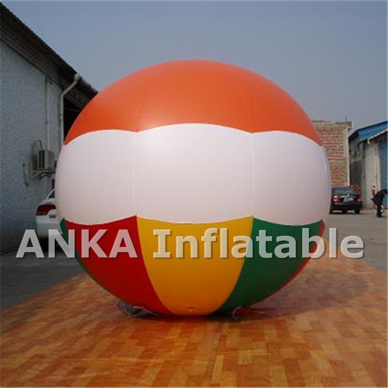 PVC Inflatable Helium Round Football Balloon for Sports