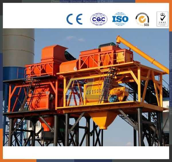 Zhengzhou Sincola Mobile Concrete Mixing Plant Concrete Batching Plant