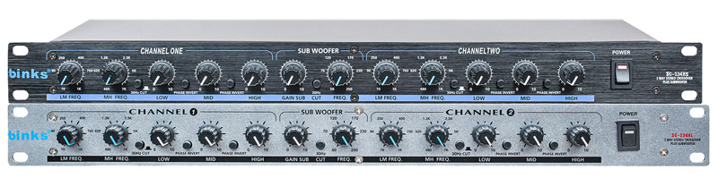 3 Way Crossover Professional Audio Processor Crossover