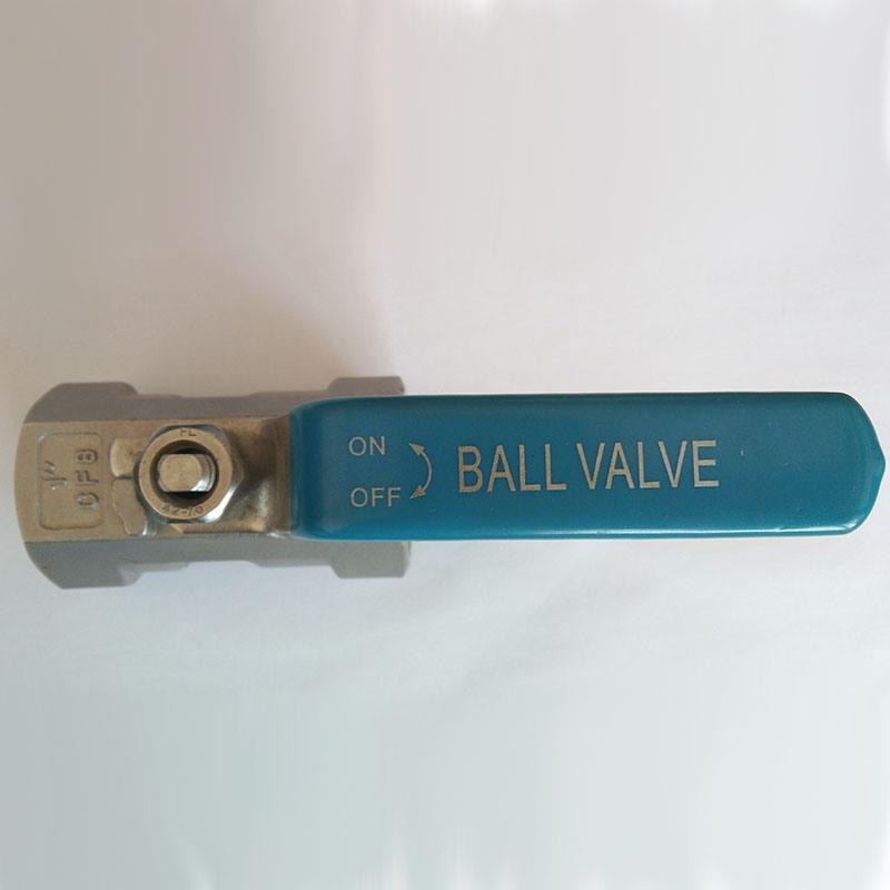 1PC Stainless Steel Threaded Ball Valves