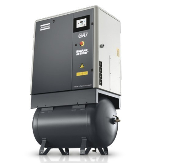 Atlas Copco Oil Injected Screw Air Compressor (GA5FF GA7FF GA11FF)