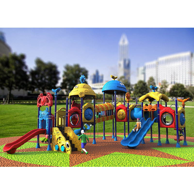 Outdoor Playground--Small Earth Guard Series, Children Outdoor Slide (XYH-MH018)