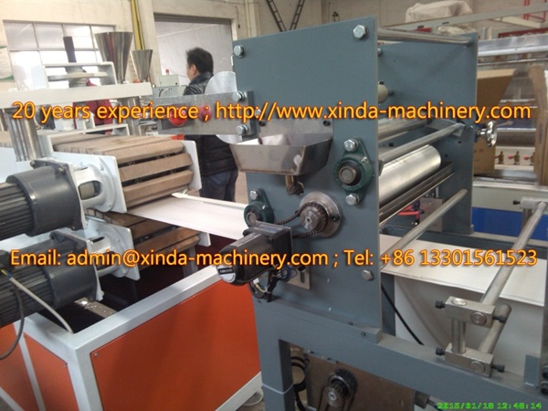 PVC Ceiling Panel Production Line Machine