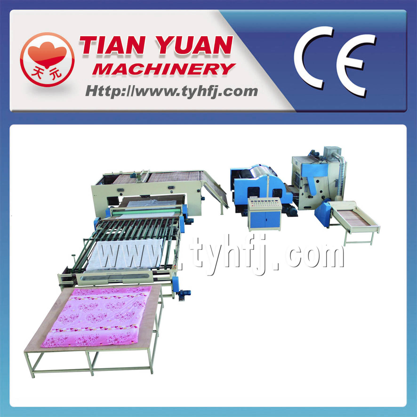 Non Woven Fiber Quilts Production Line