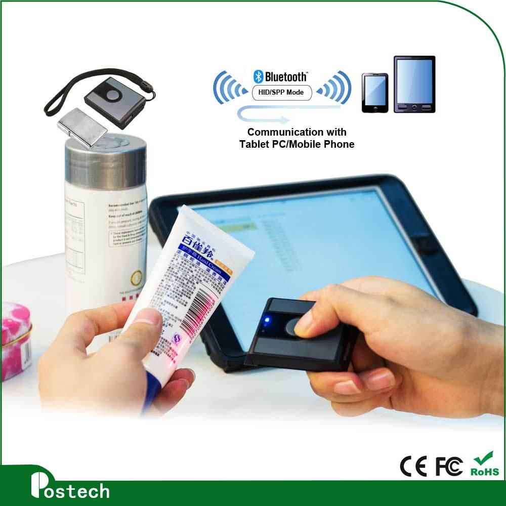 Low Price 1d CCD Wireless Bluetooth Handheld Barcode Scanner
