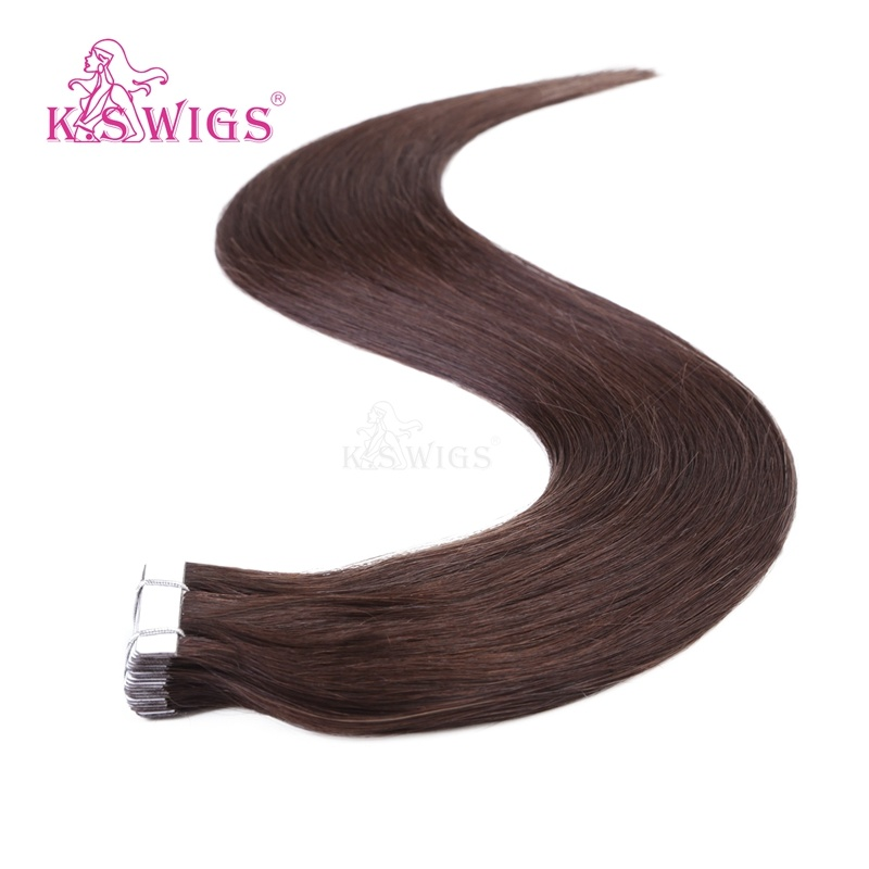 K. S Wigs New Arrival Best Quality Tape Hair Brazilian Hair Human Hair Extension
