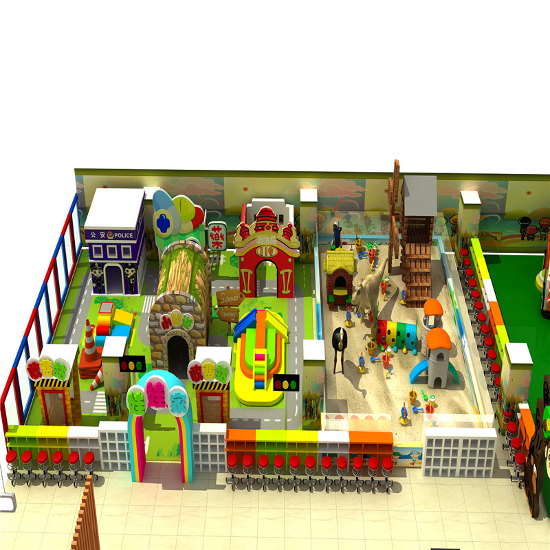 Restaurant Inside of Children Indoor Soft Play