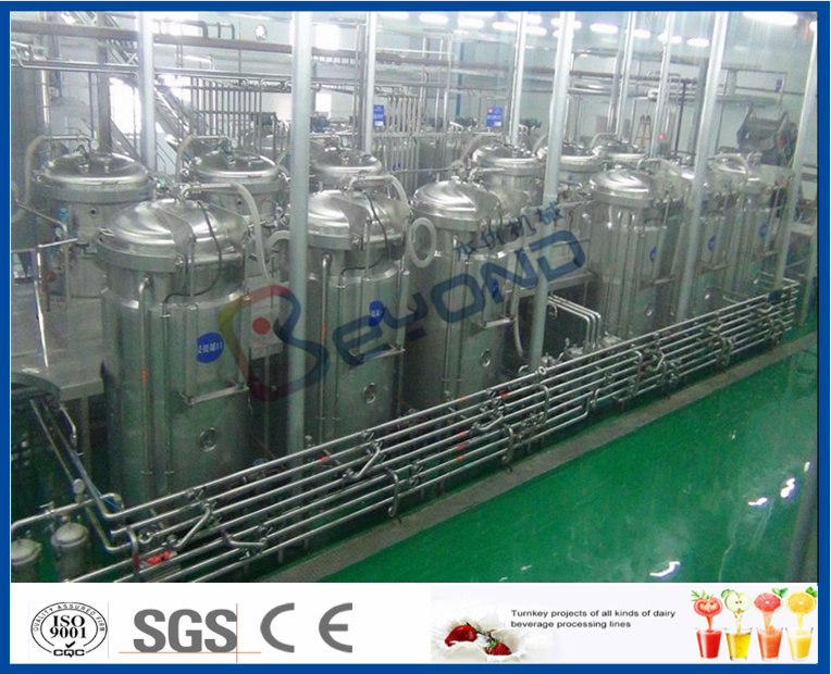 Full Set of Beverage Production Plant (1-40TPH)
