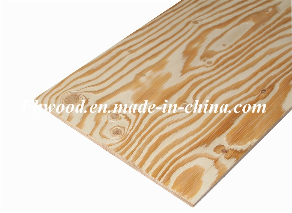 Brush Embossed Larch Plywood for Korean Market