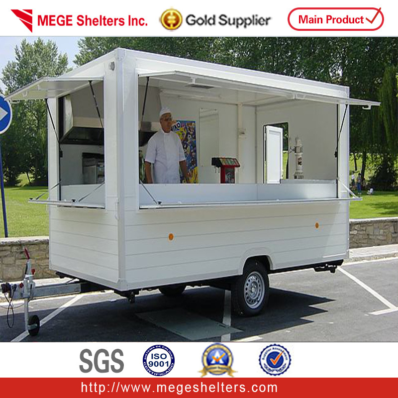 china mobile converted popular container kitchen trailer