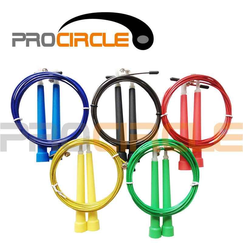 Crossfit Adjustable Cable Speed Jump Rope (PC-JR1011)