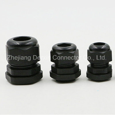 M12-M63 UL Dustproof Waterproof Nylon Cable Gland Metric Cable Gland