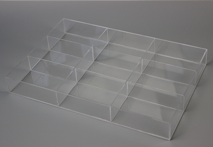 Acrylic Compartment Box for Storage