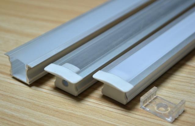 LED Aluminum Profile, Recess Mounting