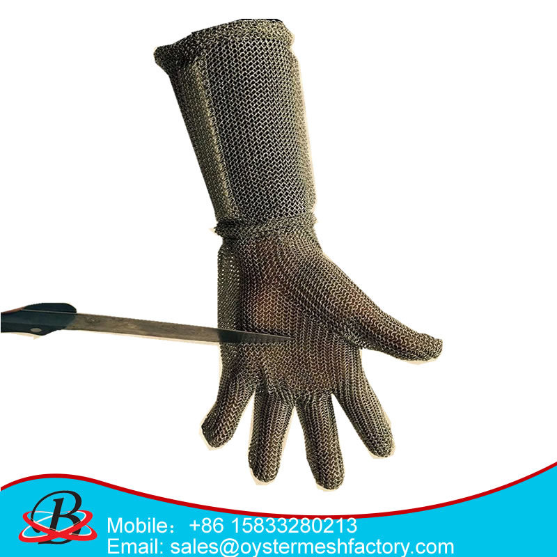 Metal Safety Anti-Cut Gloves 5 Finger