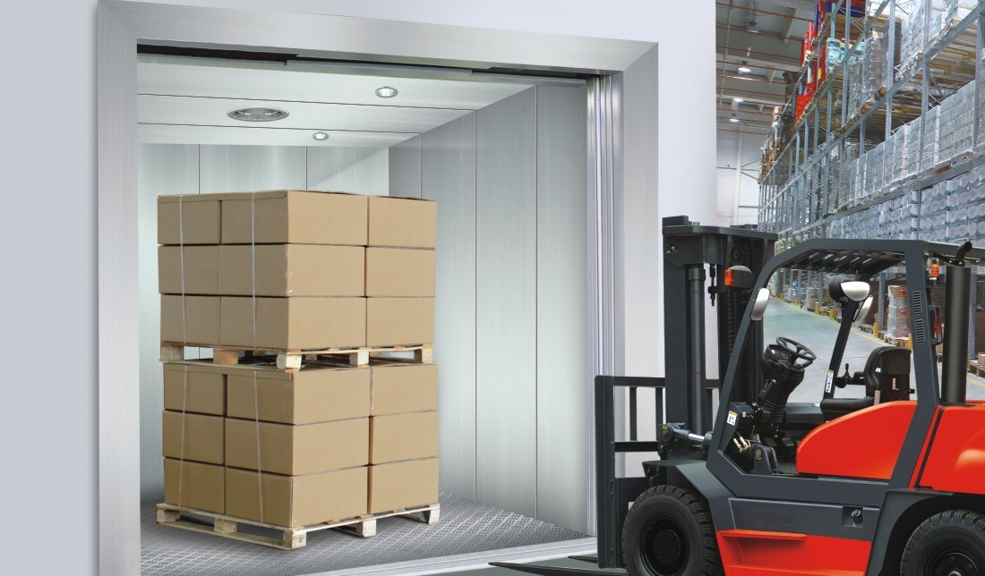 Freight Elevator Cargo Lift for Capacity 630kg to 5000kg