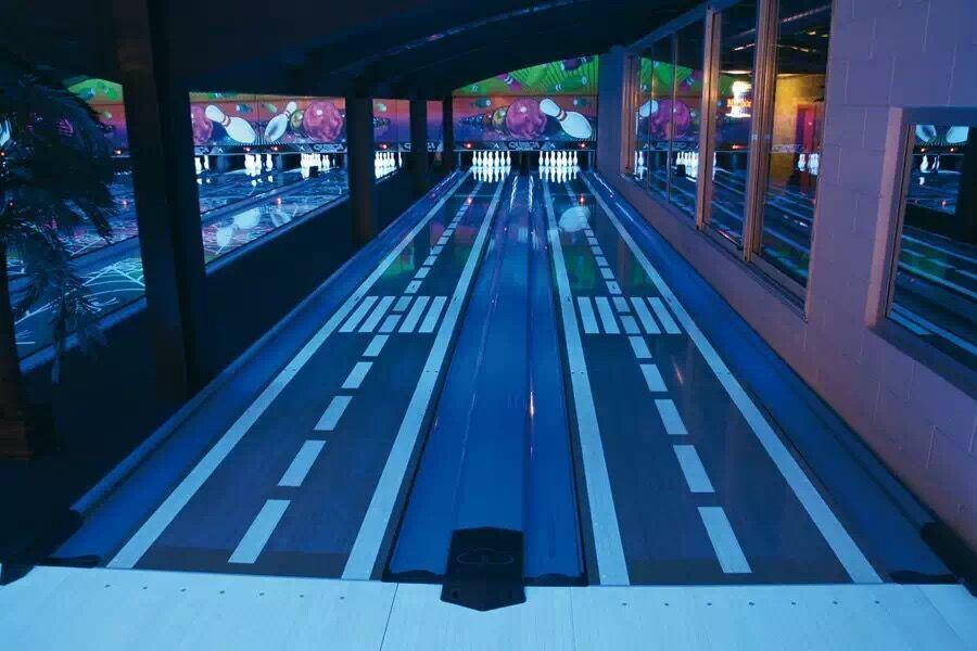 Durable PVC Bowling Gutter