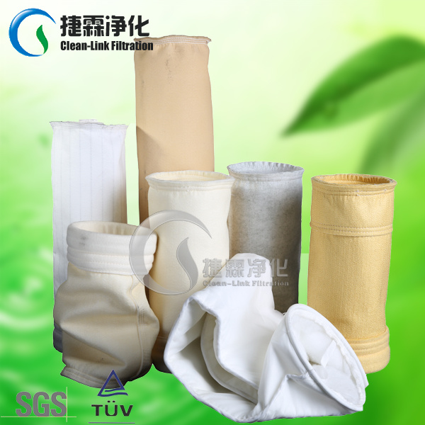 P84 PPS PTFE Polyester Felt Bag Filters