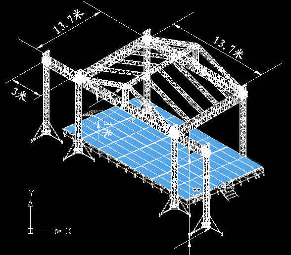 Used trade show truss systems