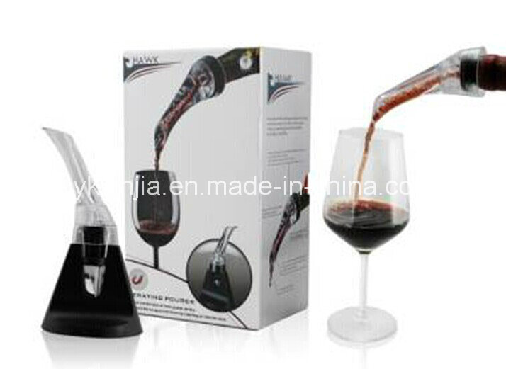 Amazon Vendor Wine Aerator Decanter with Base Color Box Packing